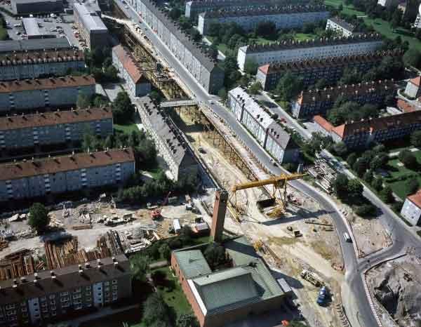 U-Bahnbaustelle