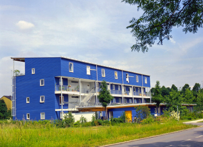Erstes Holzhaus nach amerikanischer Holzbauweise in Deutschland